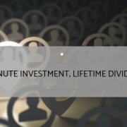 Short Investment of Time Can Pay Dividends for a Lifetime
